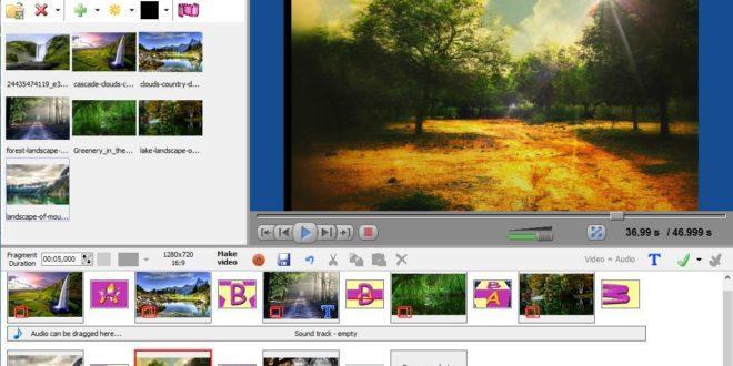 program de facut video din poze cu muzica