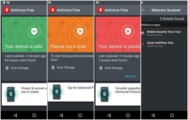 antivirus android bitdefender free